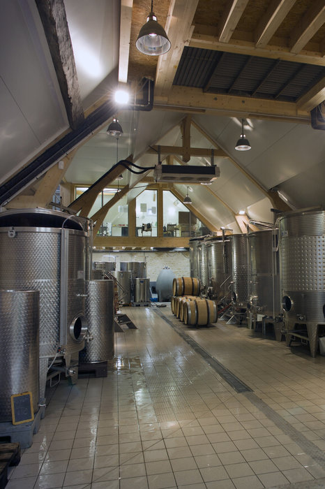 State of the Art Gravity Flow Winery